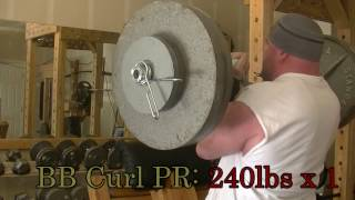 Armwrestling Training: 3 Weeks Out
