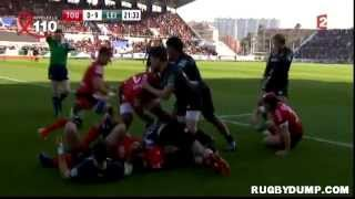 Rugby in Europe 2012 2013 quarter final Toulon Leicester