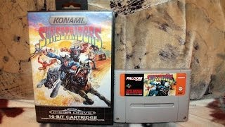 Sunset Riders Super Nintendo VS Sega Megadrive
