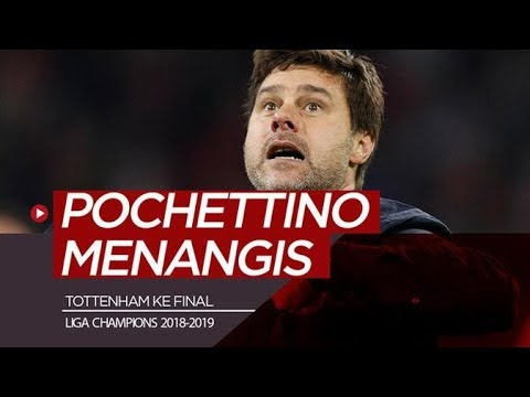 Reaksi Emosional Pochettino Usai Tottenham Menang Dramatis