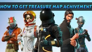 HOW TO GET THE TREASURE MAP ACHIEVEMENT IN FORTNITE (NEW UPDATE)