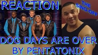 Pentatonix Dog Days Are Over Reaction (The Sing-Off)