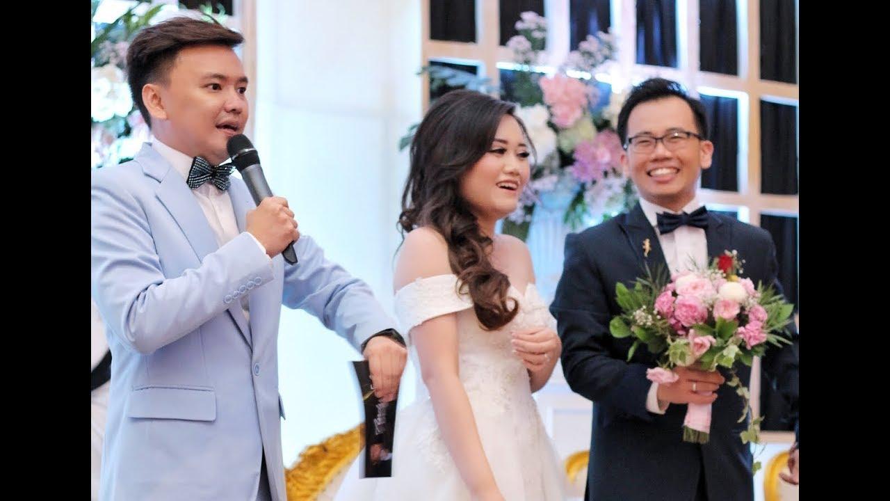 Mc Ing Erwin Tanti S Wedding At Aston Lake Sentul