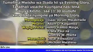 KKKT KIJITONYAMA: IBADA YA EVENING GLORY 23/05/2019, Pastor. Samy Mumbesa