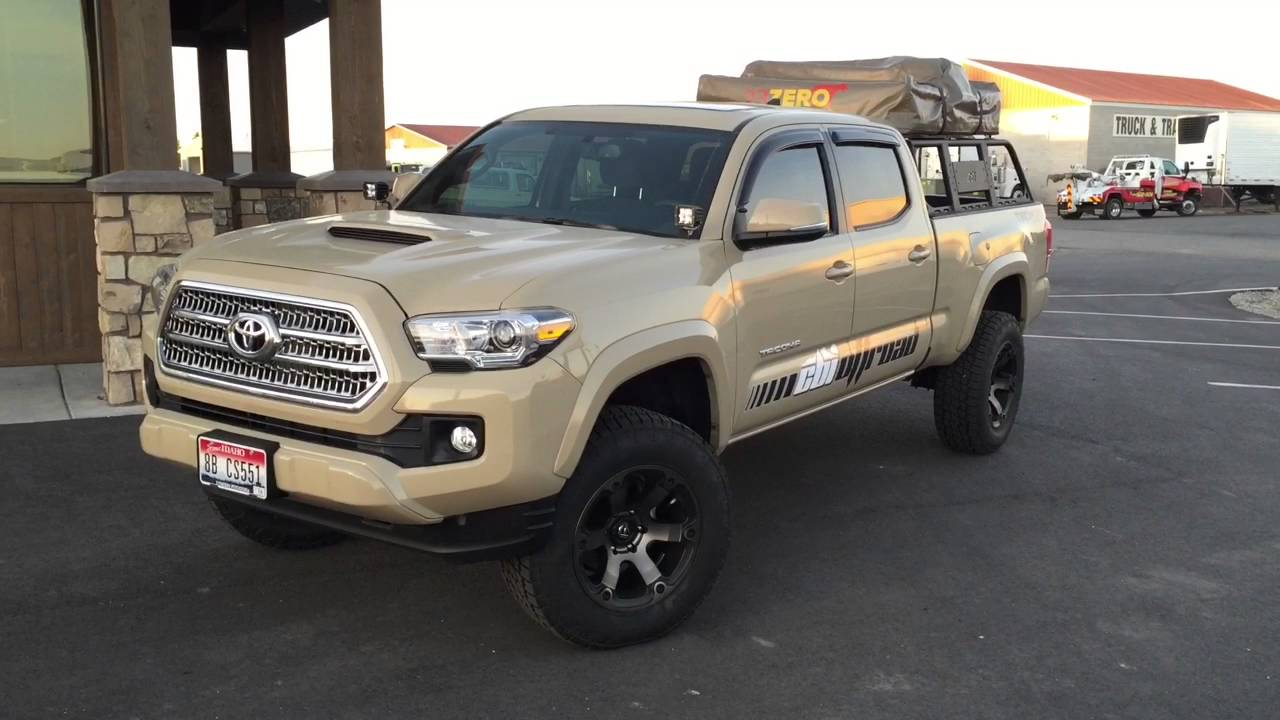 2016 Toyota Tacoma Build Desert Sand Youtube