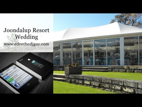 Joondalup Resort | Wedding DJ Perth - Edenthedjguy