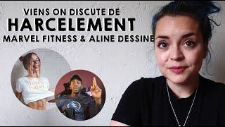 Viens on discute ✦ Marvel Fitness - Aline Dessine - Cyber-harcèlement et prison