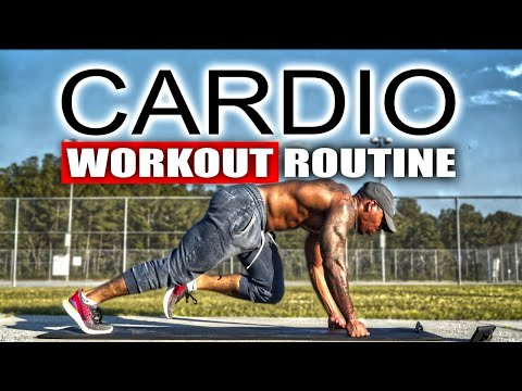 20 MINUTE FAT BURNING CARDIO WORKOUT(NO EQUIPMENT)