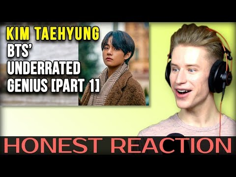 HONEST REACTION To Kim Taehyung [김태형] - BTS' Underrated Genius [ Part 1] | ENG SUB |