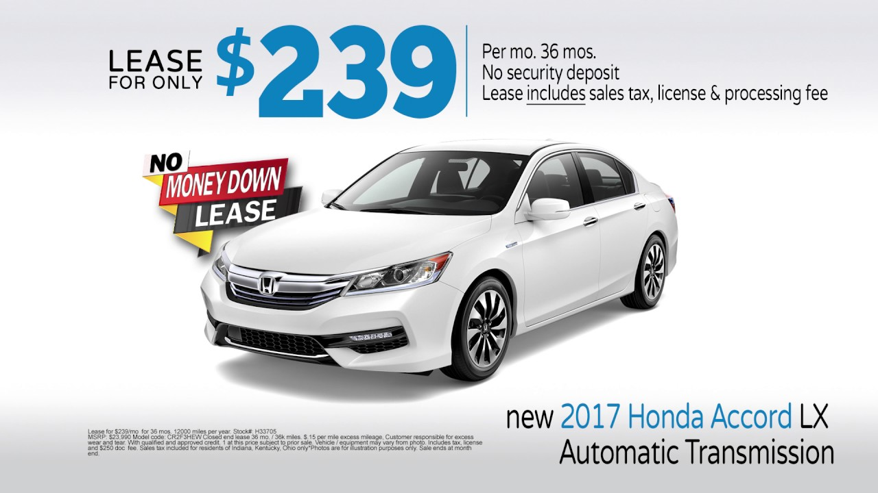 Jeff Wyler Honda In Florence June 2017 Specials Civic Accord