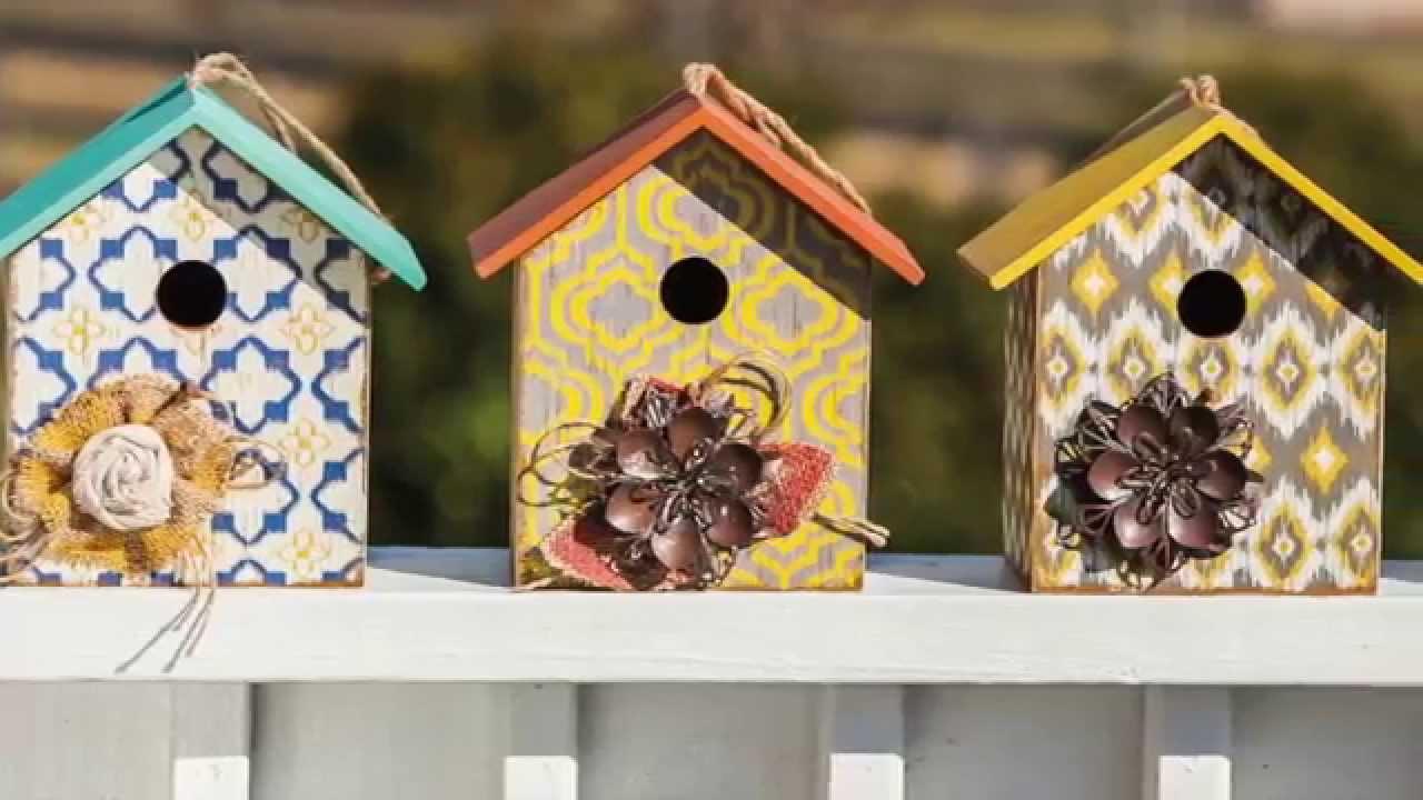 Garden Bird Feeders, Bird Houses, & Birdbaths from Evergreen - YouTube