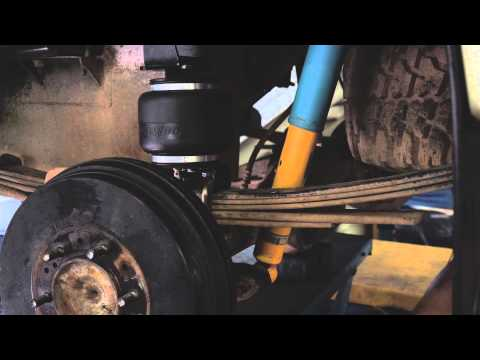 Polyair Bellow Series - Toyota Hilux kit 88103 - Installation guide
