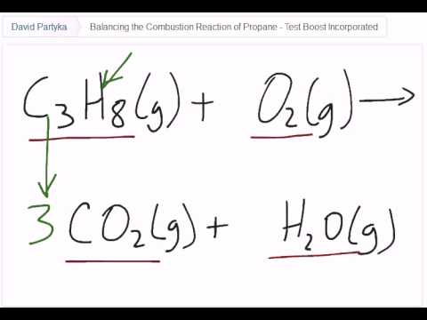 Balancing the combustion reaction of propane by test boost for sat balancing the combustion reaction of propane by test boost for sat subject test in chemistry urtaz Images