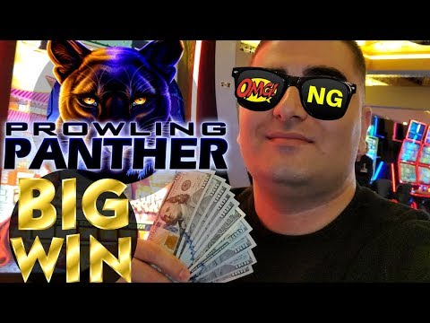 High Limit Prowling Panther Slot Machine BIG WIN | High Limit Golden Goddess Slot Machine BIG WIN