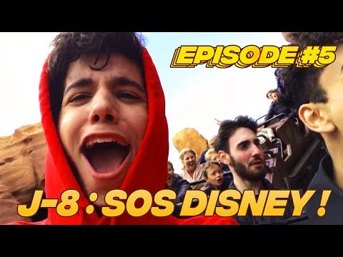 J-8 avant mon spectacle ! Terreur chez Mickey 😨😨 Sulivan On The Road #5