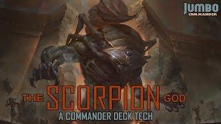 the scorpion god commander deck tech