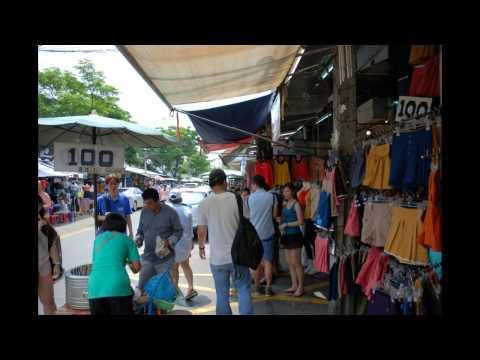 Chatuchak (or Jatujak)  JJ Weekend Market in Bangkok - World's Biggest Weekend Market