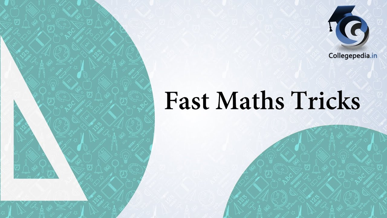 Fast Maths Tricks (Vedic) Lec 6, CAT, Multiplication (Common ...