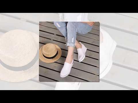 BST giày SLIP ON hot nhất thu đông 2017 - 2018