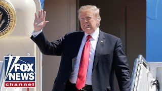 Trump arrives in Washington DC aboard AF1 days after Mueller ends probe