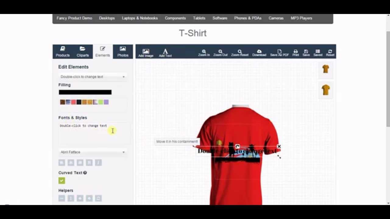 Shirt design wordpress plugin - Quick Setup Of Fancy Product Designer For Opencart