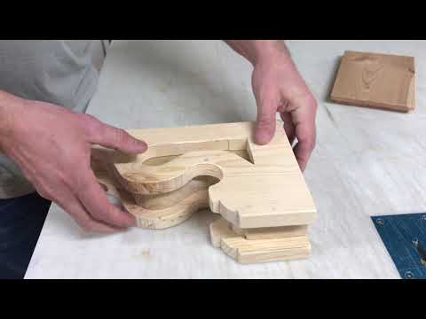 Building a Wood Corbel with Glue and Nailer