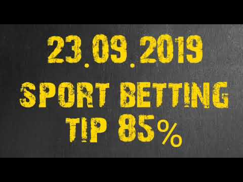Sports Betting Tips Three Match Coupons - 23.09.2019