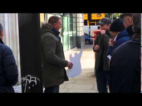 Huey Morgan in London 17 10 2015