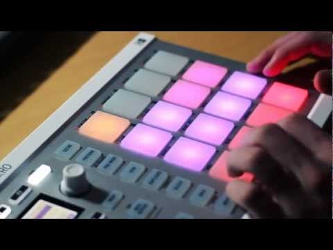 Live on the Maschine: Chill Beat
