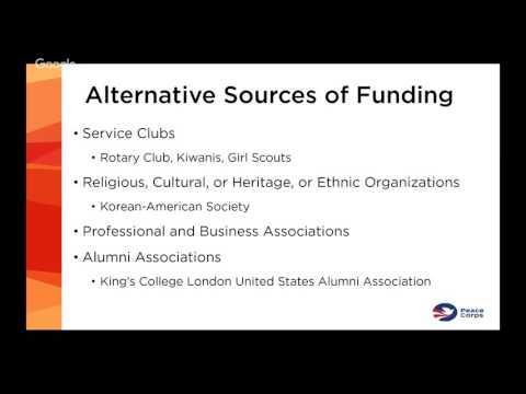 RPCV Webinar: Graduate School Funding