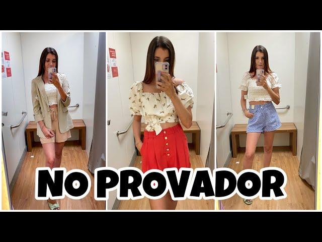 NO PROVADOR - PROVANDO LOOKS NA RENNER DEPOIS DA GRAVIDEZ