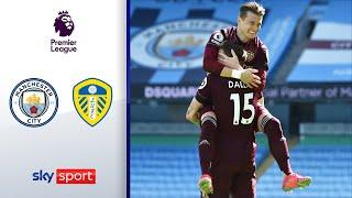 Leeds schlägt Tabellenführer in Unterzahl | Man City - Leeds United 1:2