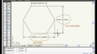 AutoCAD Basics Online Beginners Quick Video Tutorial Lessons - 3A