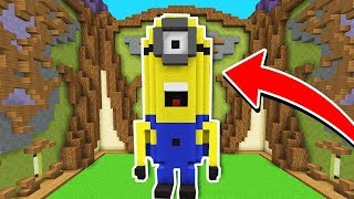 ¡EL MEJOR MINION DE LA HISTORIA! 😍👍 MINECRAFT BUILD BATTLE #22