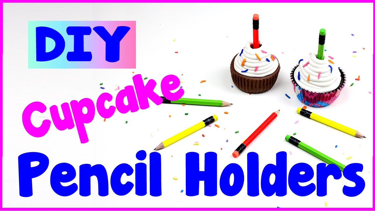 Diy crafts 2 easy ways to make diy pencil cupcake holders for Cool easy crafts to make