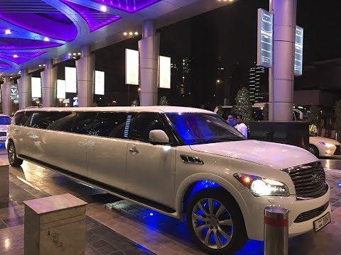 Infinity Presidential Limousine by Dubai Limousine Company