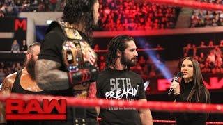 vuclip Stephanie McMahon reveals the final member of the Raw team at Survivor Series: Raw, Nov. 7, 2016