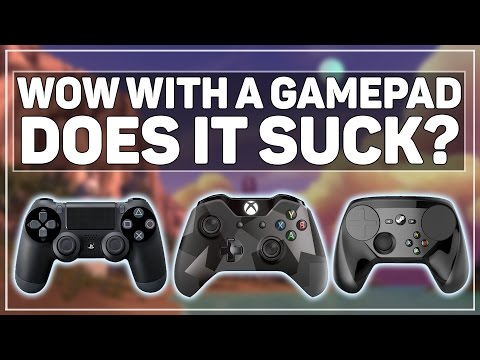 World Of Warcraft With A Controller & Streaming - Does It Suck?