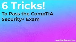 How to Pass the CompTIA Security+ (SY0-501) Exam (6 Tricks)