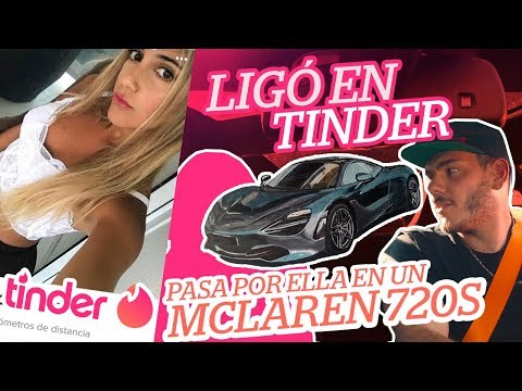 Ligo en Tinder y paso por ella en un McLaren 720s (ASÍ REACCIONÓ)