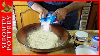 Πως να φτιάξεις σπιτικό ψωμί (εύκολη συνταγή)