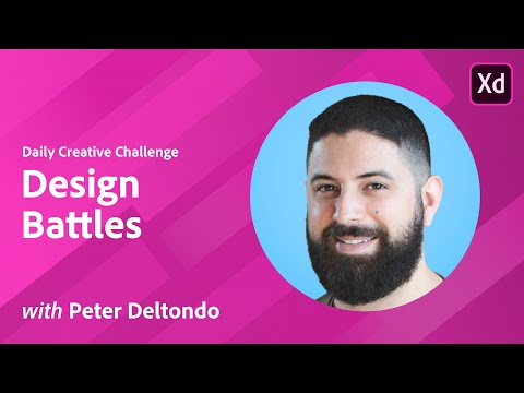 XD Daily Creative Challenge - Design Battles