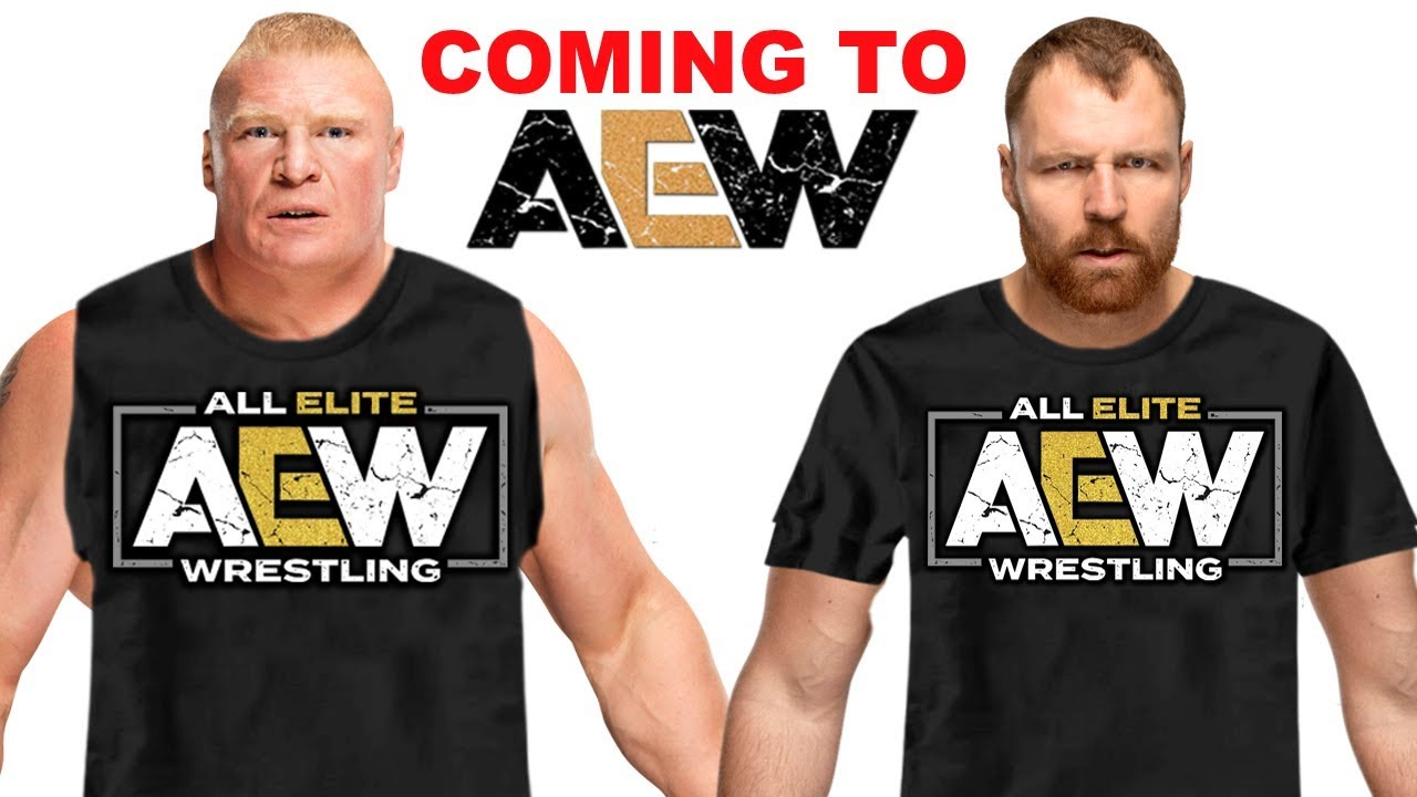 10 Current WWE Wrestlers Coming to AEW - Dean Ambrose & Brock Lesnar Joining AEW? - YouTube
