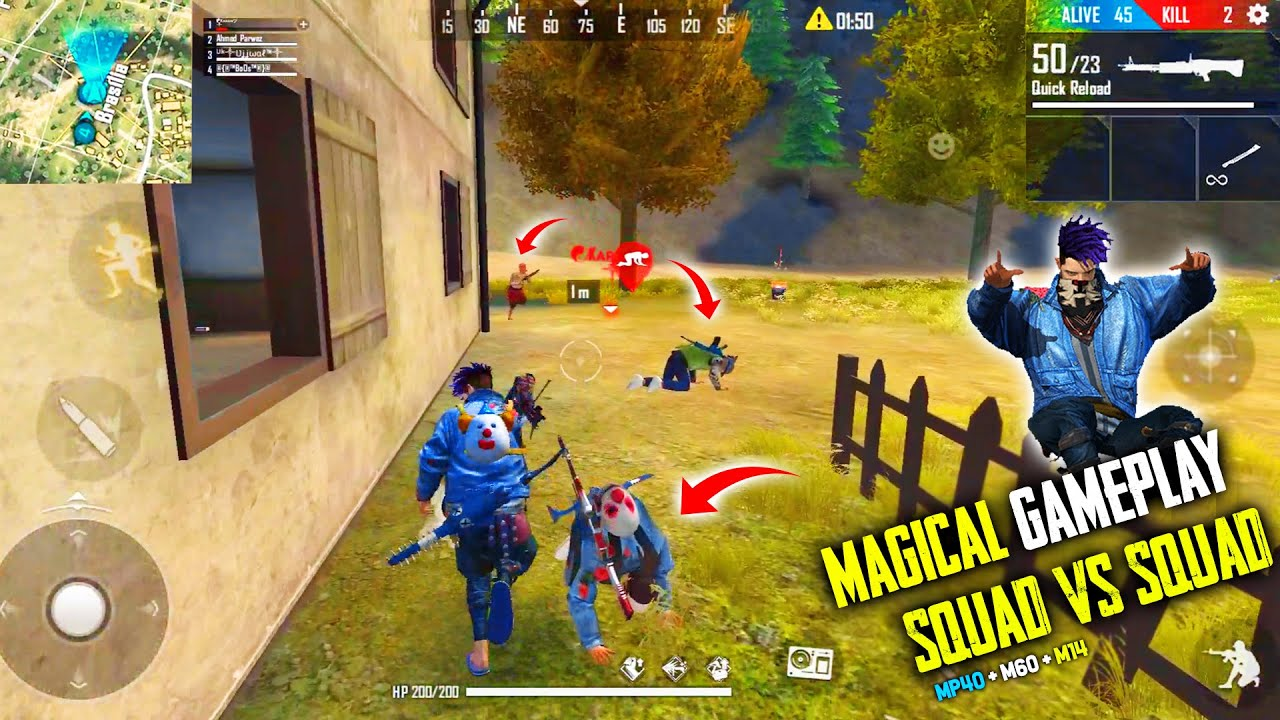 Global Player 19 Kills Total In Free Fire | Must Watch This Magical Gameplay – Garena Free Fire