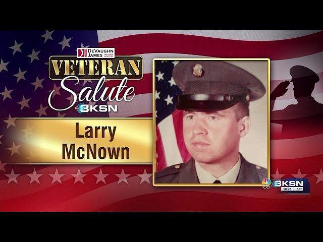 Veteran Salute: Larry McNown