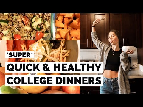 EASY COLLEGE MEAL IDEAS // Gluten And Dairy Free!