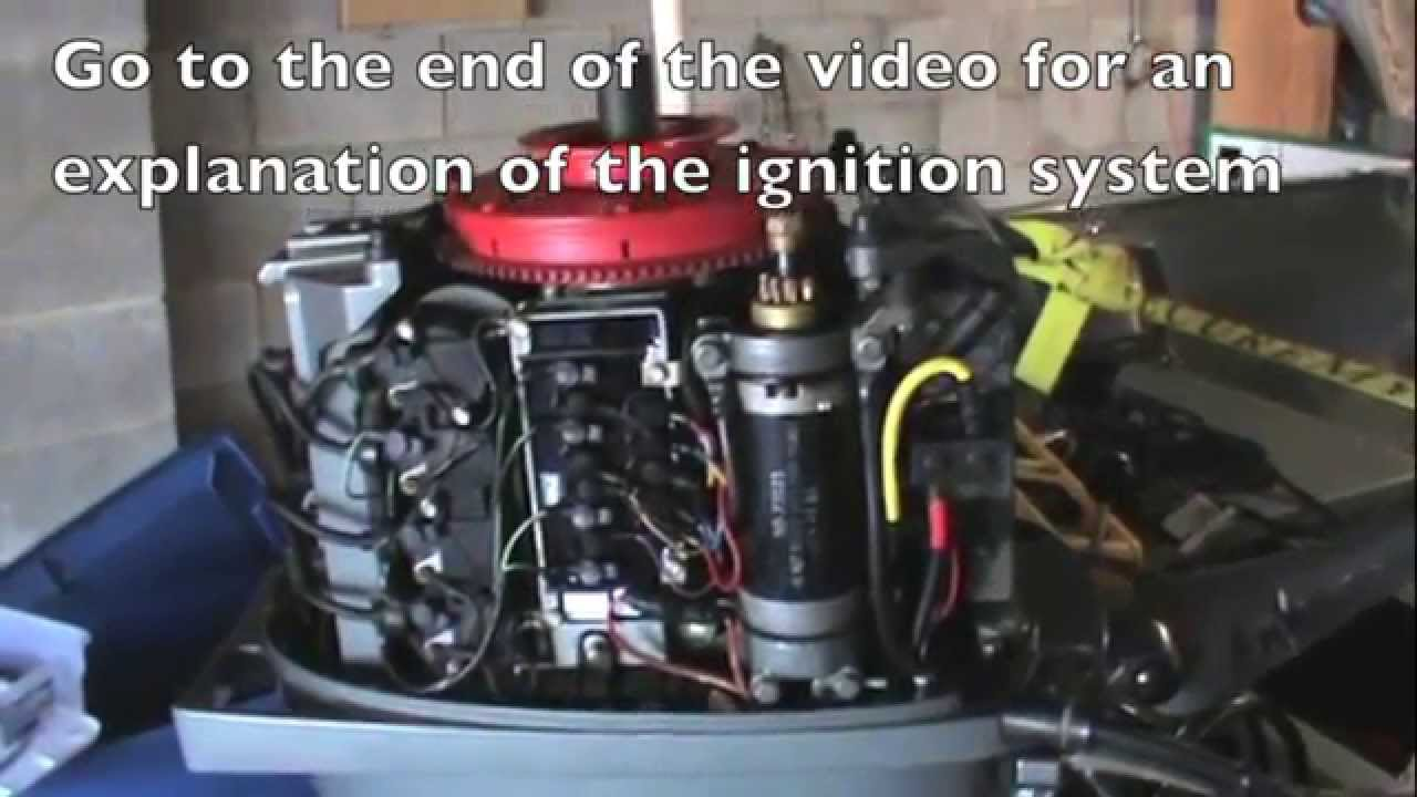 Mercury Outboard Motor Wiring Harness 1988 Mariner No Spark Wont Start Fix Stator Youtube