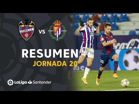 Resumen de Levante UD vs Real Valladolid (2-2)