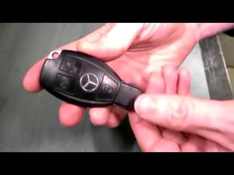 Mercedes Key Battery Change >> Mercedes Benz Key Fob Battery Replacement