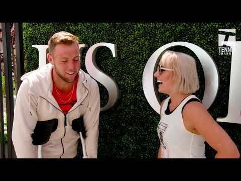#GameSetMattek Jack Sock 2017 US Open Media Day
